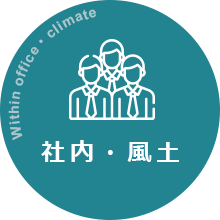 Within office・climate 社内・風土